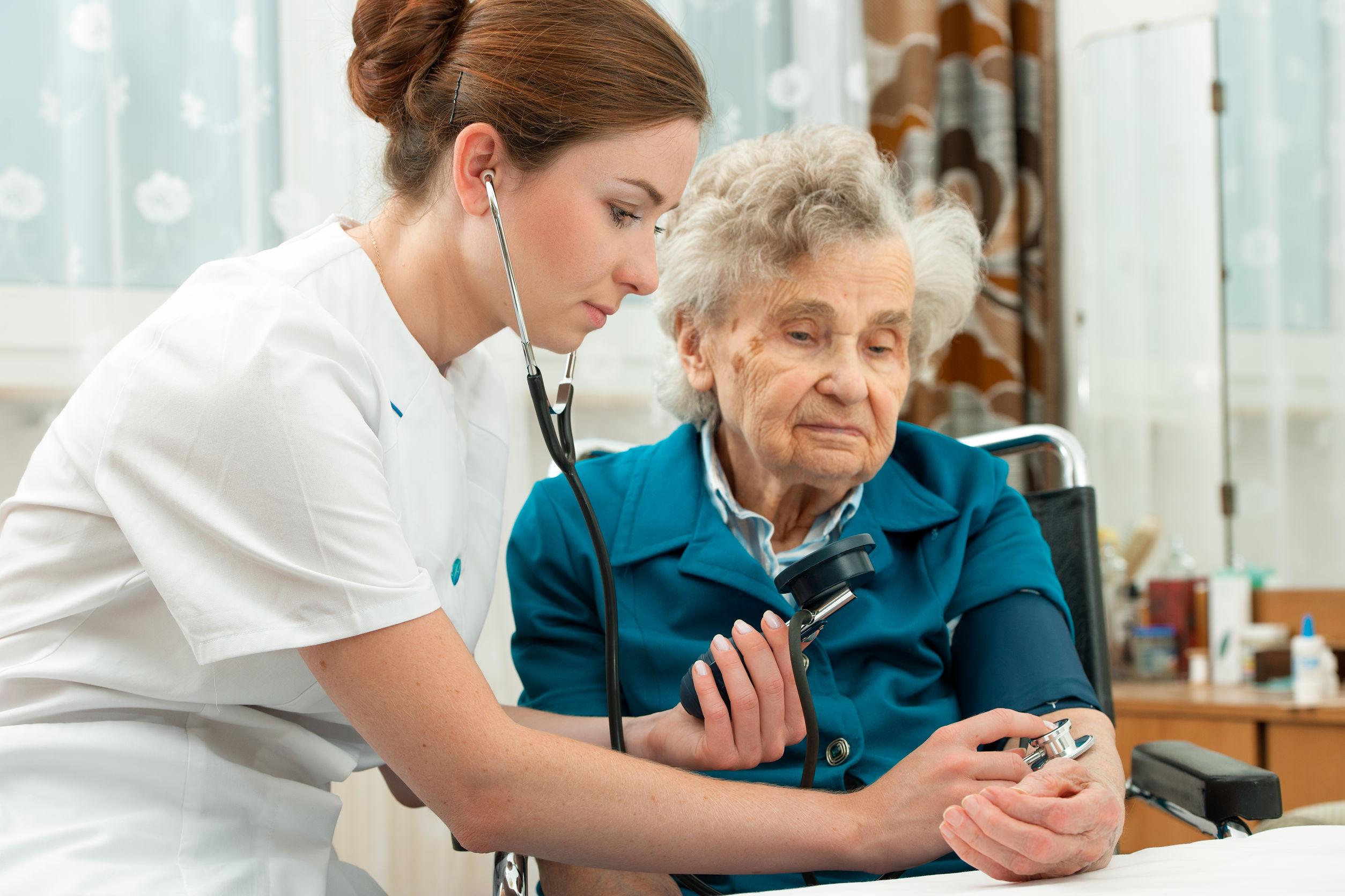 medida de presion del adulto mayor -nurses daily